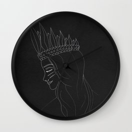 Tribal Girl Wall Clock
