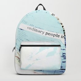 Ordinary People Backpack