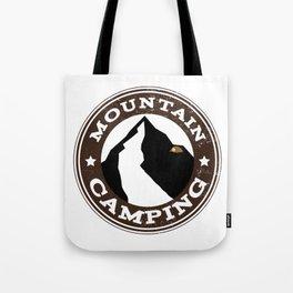 Mountain Camping Tote Bag