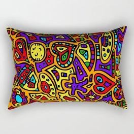 Abstract #416 Rectangular Pillow