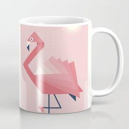 Origami Flamingos Coffee Mug