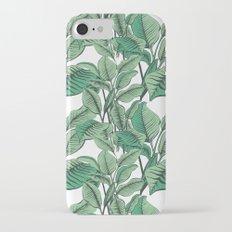 Exotic Tropical Banana Palm Leaf Print Slim Case iPhone 7