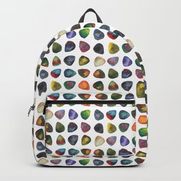 Guitar Picks Watercolor Backpack