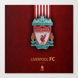 Fc Liverpool My Favorite Sport Team Canvas Print
