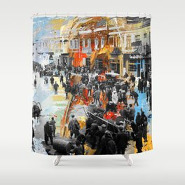 Tbilisi 4 Shower Curtain