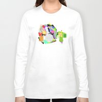 katamari Long Sleeve T-shirts featuring Little Katamari by CatOverlord