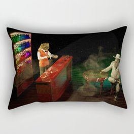 The Patron and the Mixologist Rectangular Pillow