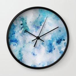 Foliage Crystals Wall Clock