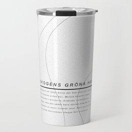 Skogens gröna hav / Sea of the forest  Travel Mug