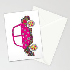 Colorful car Stationery Cards