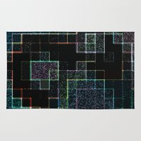 tetris Area & Throw Rugs featuring Tetris by Audrey Erickson