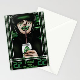 Feed Your Machine  Stationery Cards