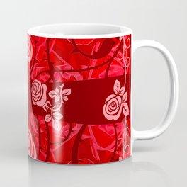roses need thorns vector art red Coffee Mug
