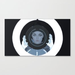 Siren / Tron: Legacy Canvas Print