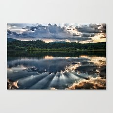 Summer Thunder Canvas Print