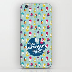 That summer feeling - Blue iPhone & iPod Skin