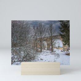 DE - Baden-Württemberg : Viadukt Laupheim Mini Art Print