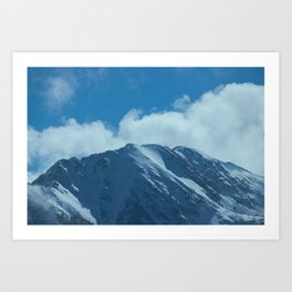 Fair-Weather Mountain Art Print