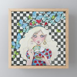 Not Everyone's Cup of Tea Framed Mini Art Print