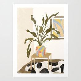 The Plant Room Art Print