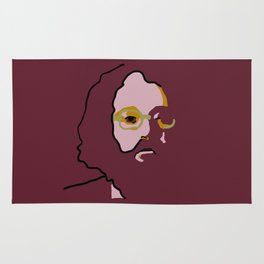 Allen Ginsberg Rug