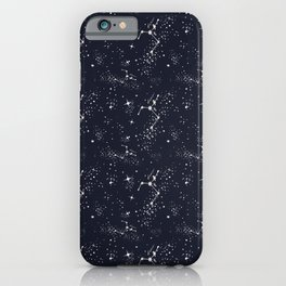 Zodiac Constellations - Cancer iPhone Case
