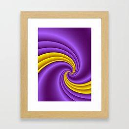 fluid -60- Framed Art Print