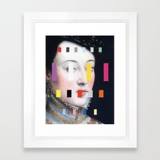 Portrait With A Spectrum 4 Framed Art Print