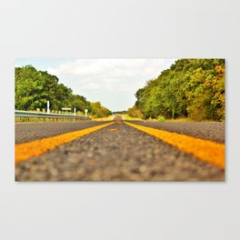 The Road Goes On Canvas Print