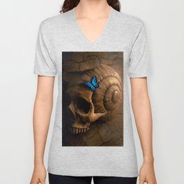 The Beauty In Death Unisex V-Neck