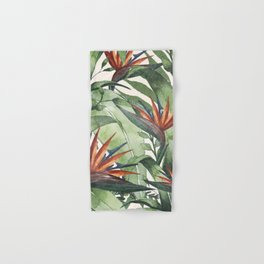 Tropical Flora I Hand & Bath Towel