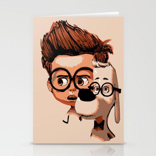 Mr. Peabody & Sherman Stationery Cards