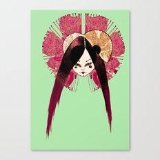 Ma Petite Japonaise v4 Canvas Print