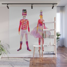 Nutcracker Ballet Wall Mural