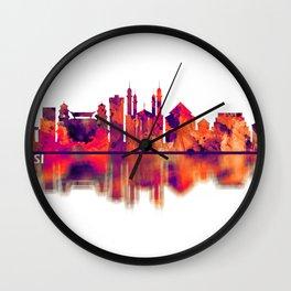 Bekasi Indonesia Skyline Wall Clock