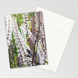 Bugbane forest. Stationery Cards