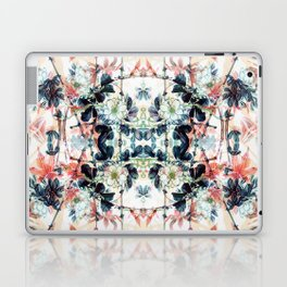 Japanese delicate flowers and maple leaves Laptop & iPad Skin