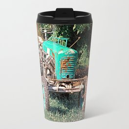 Old traditional Lindner tractor | conceptual photography Travel Mug