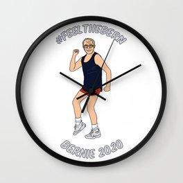 Feel the Bern 2020 Wall Clock