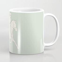 Eventing in green Coffee Mug