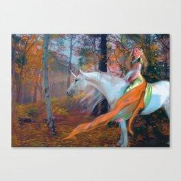 En el Bosque de los Susurros Canvas Print