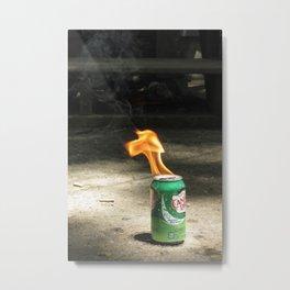 Pyro Metal Print