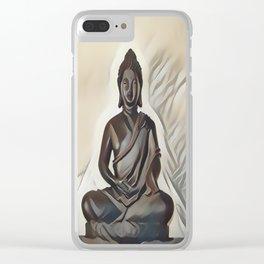 Siddhartha Gautama - Buddha Clear iPhone Case