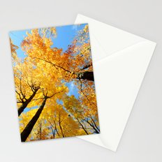 Fall Forest Sky Stationery Cards