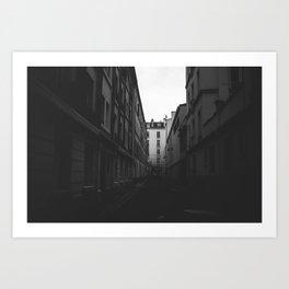 Alleys of Paris Art Print
