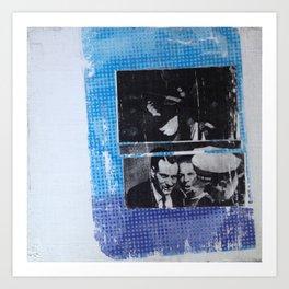 OSWALD/HALF TONE Art Print