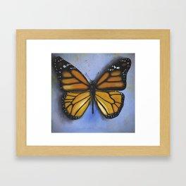 Majestic Monarch Framed Art Print