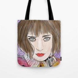 Floral chloe Tote Bag