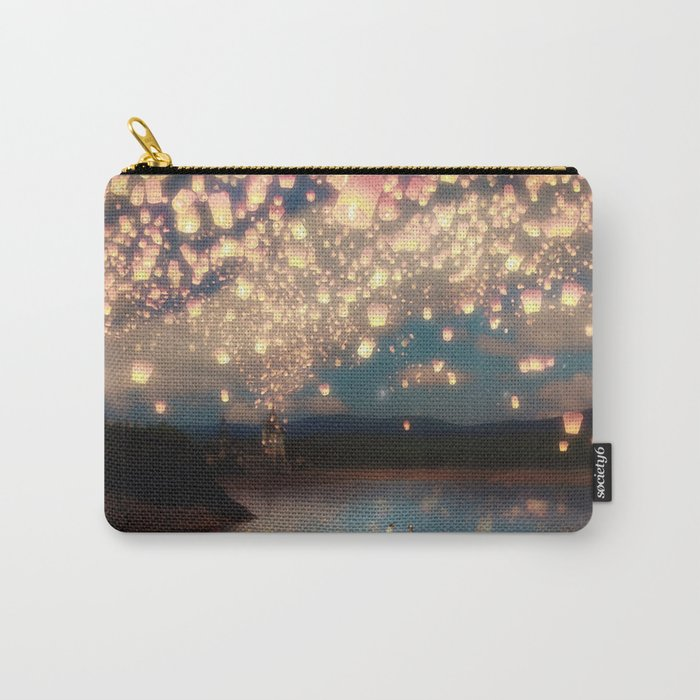 Love Wish Lanterns Carry-All Pouch