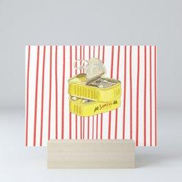 sardine! Mini Art Print
